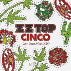 ZZ Top Cinco The First Five Lps New Vinyl 180 Gram, Boxed Set