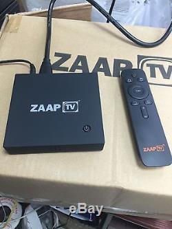 Zaap TV Arabic Turkish Kurdish IPTV Set Top Box 3Years With Kodi Built In