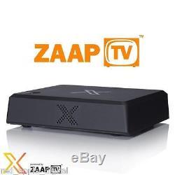 Zaap TV X Arabic Turkish Kurdish IPTV Set Top Box 2 Years With Kodi Built In