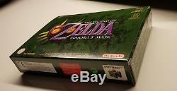Zelda Majoras Mask Adventure Set Nintendo 64 N64 Big Box CIB Holy Grail Top