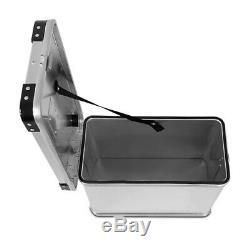 Alu Pannier Set Gobi 34l-34l Top Box 36l Avec Kit De Montage Pour Porte-bagages