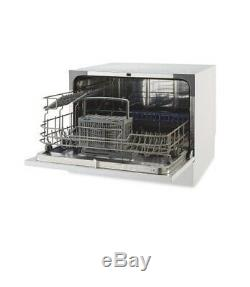 Blanc Ambiano Table Lave-vaisselle, 6 Réglages, Mini Coffret + Unused Countertop