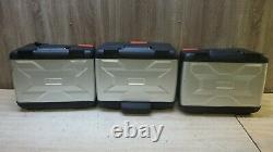 Bmw F700 800 / R1200 Gs 1250 Variable Juxtaposition Box Set Pannier Vario Case Case