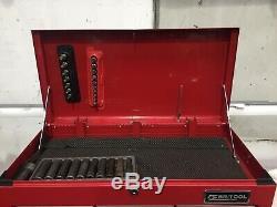 Britool Boîte À Outils Cabine Roll, Cabine Side Et Top Box Avec 2 Jeux De Clés