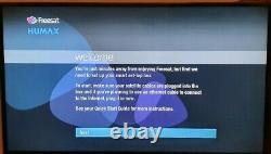 Humax Hdr-1010s 1 To Freesat Hd Satellite Tv Recorder Receiver Set Top Box Blanc