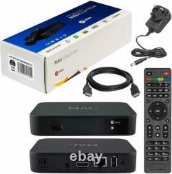 Mag 322w1 Ip-tv Décodeur Avec 12 Mois Premium Setup Warranty Fast Dispatch