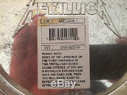 Metallica, Metalcan1, Metalleimer Box-set (1993) Limitiert, Superrarität, Top
