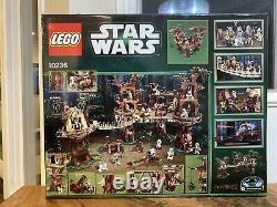 Nisb Lego Star Wars 10236 Ewok Village Rare Retiré État Neuf Box
