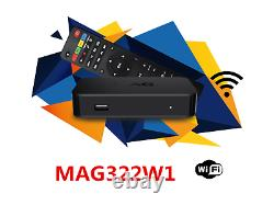 Nouveau 2020 Mag322w1 Par Infomir Mag 322 W1 Iptv Set-top-box Construit En Wifi + Hdmi