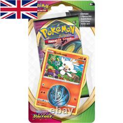 Pokemon Top Box Formateur Farbenschock Voltage VIVID Deutsch Englisch Komplettset