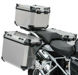 Set Alu Koffer Für Afrique Honda Crf 1000 L Double 16-17 + Topcase Adx130