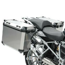Set Alu Koffer Für Bmw R 1250 Gs 19-20 + Kofferträger Adx90