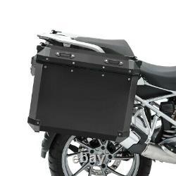 Set Alu Koffer Für Bmw R 1250 Gs Adventure 19-20 + Kofferträger Adx90b