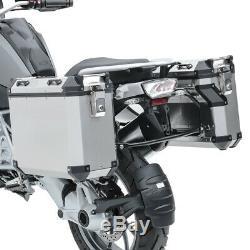 Set Alu Koffer Für Ktm Super Adventure R 1290 / S / T + 17-20 Kofferträger Adx70