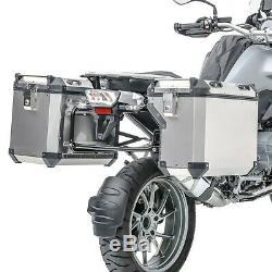 Set Alu Koffer Für Ktm Super Adventure S 1290 17-20 + Topcase + Kofferträger Adx130