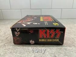 Set Kiss Of 36 X Cartes Bubble Gum -1978 Vintage Contre Top Box Belle