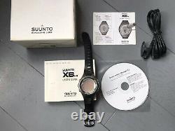 Suunto X6m Noir Montre-poignet Noir Montre Avec Baromètre Baromètre Compas