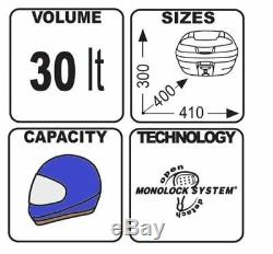 Suzuki Sv 650 2019 Givi Top Box E300n2 + 3111fz + Rack M5m Set Complet Monolock