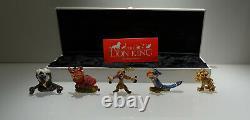 Swarovski Disney Arribas De Roi Lion Boxed Set Top Ovp