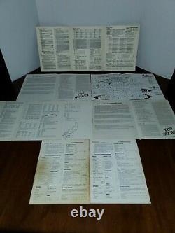 Top Secret Jeu Rpg Box Set + Tuns D'extras Tsr 7006 7601 Vintage 1980 Rare
