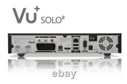 Vu+ Solo2 500 Go Twin Satellite Set-top-box Freesat / Carte D'abonnement