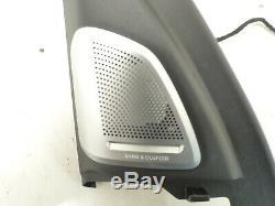 X6 D'origine Bmw F16 F86 M Set Abdeckung Fensterrahmen Tür Vorne Bang & Olufsen